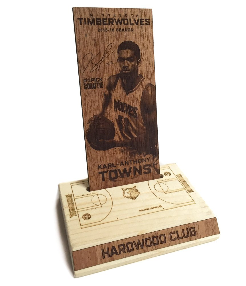 Minnesota Timberwolves Hardwood Club Plaque