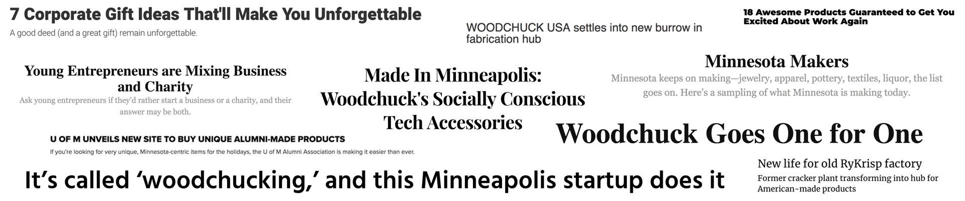 Woodchuck USA Media Background