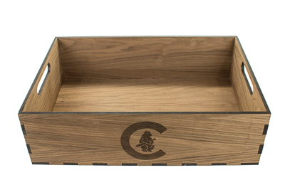 400px CHICAGO CUBS (MLB) - Custom Wood Tray #2
