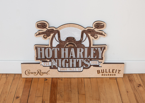 DIAGEO - Crown Royal + Bulleit Bourbon - Hot Harley Nights 1